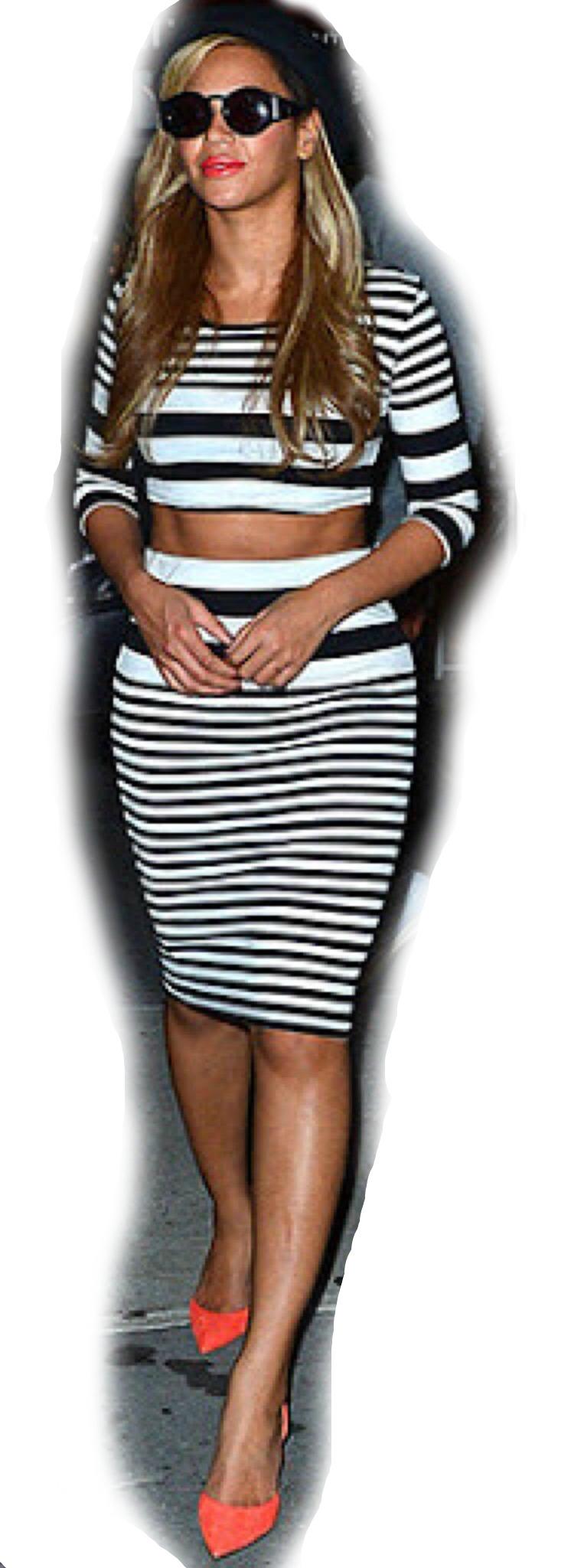 beyonce inspired diy crop top an matching high waist